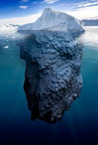 Magnifique iceberg.